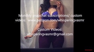 Watch my ass as I BLOW you- Whispering V ASMR