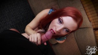 Creampied My Mom while Dad was out. Lady Fyre Fauxcest redhead mommy milf fauxcest taboo bush point of view hairy pussy mom olivia fyre cum in pussy mother lady fyre creampie pov laz fyre