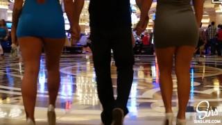 Kissa Sins Vegas Birthday Surprise w/ Keisha Grey and Johnny Sins
