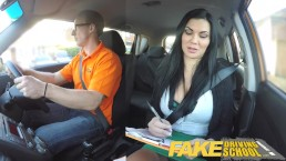 Fake Driving School busty exam
