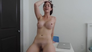 Boss JOI  point of view ass tits whooty kink curvy pawg brunette hottie nude big boobs jerk off instruction boss