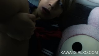Little Sailor Girl Gives Up Her Ass  ass fuck homemade cosplay one mouth cumshot dsl young hardcore drilled teenager facial kawaii girl cam girl costume