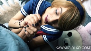 Little Sailor Girl Gives Up Her Ass  ass fuck cam girl homemade cosplay one mouth cumshot dsl young hardcore drilled costume teenager facial kawaii girl