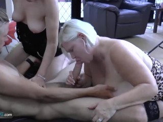 AgedLovE Busty BBW Lacey Blowjob and Hardcore sex