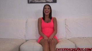 August Ames takes the BIGGEST Black Cock she ever had! dredd big cock bbc interracialpass hardcore canadian massive black cock monster cock big boobs cock sucking big black dick natural tits interview