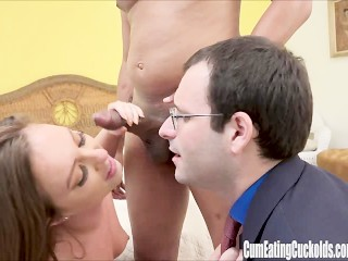 Maddy Oreilly takes big black cock