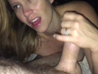 Hot Blow Job, Deep Throat & Cum