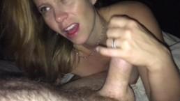 Hot Blow Job, Deep Throat & Cum