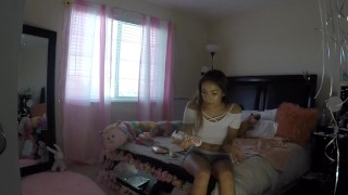 Sami Parker Caught On Hidden Camera By Her Stepbrother  voyeur masturbation sami parker asian teen voyeur sister masturbate voyeur young teenager hot native american petite teen step sister stepsister asian amateur step siblings caught native american teen