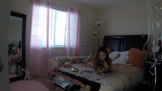 Sami Parker Caught On Hidden Camera By Her Stepbrother hot native american asian teen step siblings caught young masturbate asian amateur sami parker voyeur sister step sister voyeur voyeur masturbation petite teen stepsister teenager native american teen