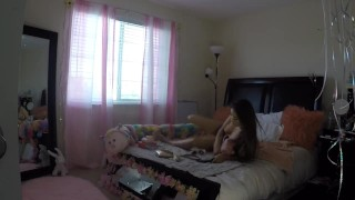 Sami Parker Caught On Hidden Camera By Her Stepbrother  voyeur masturbation asian teen voyeur sister masturbate voyeur young teenager hot native american petite teen step sister stepsister asian amateur step siblings caught sami parker native american teen