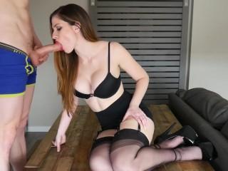 Interracial amateur oily fuck video