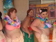 5 Curvy Ssbbws Hula Hoop