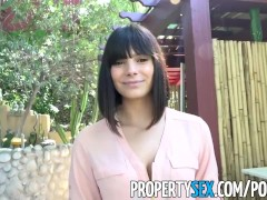 PropertySex - Gorgeous agent with big...