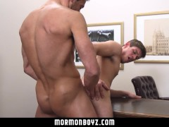 MormonBoyz-Can this boy take his leader's huge dick?