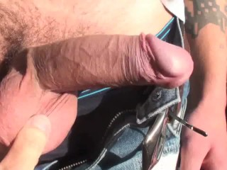 HAMMERBOYS hung twink gets a handjob while wearing VR headset