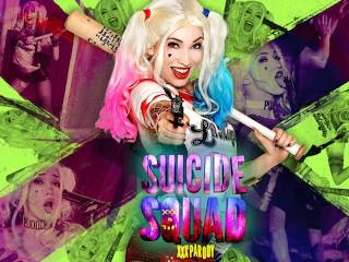 Suicide Squad XXX Parody -Aria Alexander as Harley Quinn