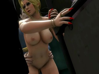 Helena In Snake On A Train - DOA5 [thedirtden]