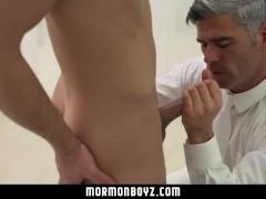 MormonBoyz- Dom daddy plows sub boy bareback