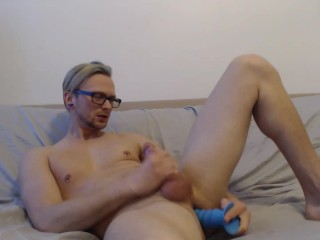 Max Dynamite Takes Big Dildo in Ass