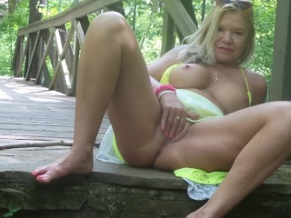 Naturally horny in nature part one.