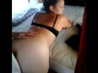 Big ass latina slut fucked by stepbrother