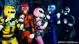 Power Bangers: A XXX Parody Part 5 – Brazzers