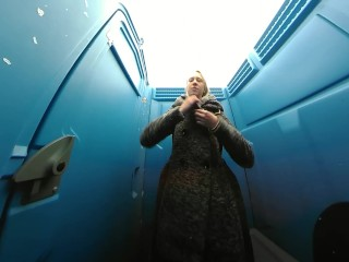 Voyeur Public Toilet HD SPYcam