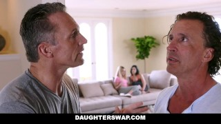 DaughterSwap - Dads fuck the lesbian out of their daughters tiffany-jade dads hardcore big-tits blonde alexa-raye shaved cumshot daughterswap smalltits brunette fake-tits daughter bigcock facialize facial doggystyle