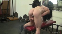 Big Clit Gym Masturbation and