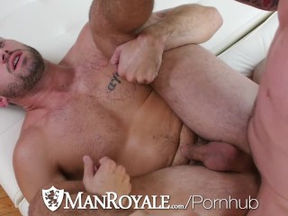 ManRoyale Muscle Wesley Woods fucks pool guy Trenton Ducati