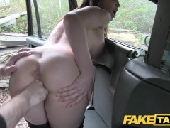 Fake Taxi Hot Australian brunette in ...