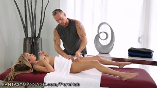 FantasyMassage She Can't Stop Squirting asian older-younger big-tits blowjob squirting fingering pussy-rubbing big-boobs hairy cumshot female-ejaculation fantasymassage reverse-cowgirl orgasm tattoos squirt massage