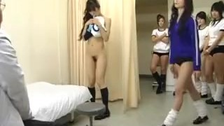 Subtitled CMNF Japanese schoolgirls group medical exam  subtitled doctor zenra subtitles young japanese school japan students schoolgirls teenager cmnf medical examination enf inspection