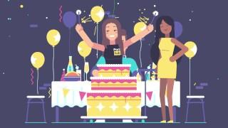 Dick and Jane Celebrating 10 Years of Pornhub with Aria!  dick and jane celebration 10 years aria celebrate birthday dickandjane cake anniversary jane dick pornhub aria