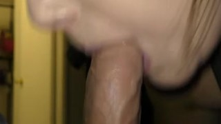 big cock pov point of view drool drooling spit sloppy blowjob sloppy head sloppy mya lane ryland ryker cum sprayed with cum facial cum in eye wife