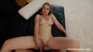 Drop Dead Gorgeous Calendar Girl Ends Her Dry Spell  hardcore sex net video girls big boobs riding dick amazing rider natural tits round ass hot babe netvideogirls amateur perfect body