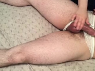 Amateur chastity unlocked for fun 9