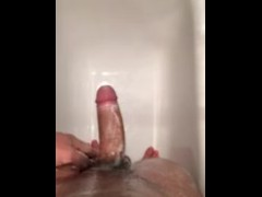 Young guy is stroking his cock and talk dirty Part 2