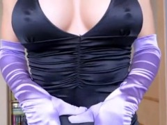 JOI Sexy Silky Blonde Mistress...oh yes!