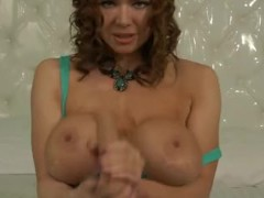 Dirty Talking Kylee Nash Shows Son How To Stroke Cock JOI