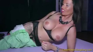 Preview 1 of wild gangbang with busty Milf Dacada