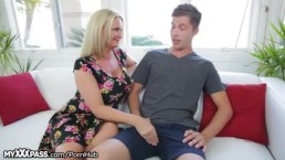 Cougar gets a Taste of Daughters Boyfriend