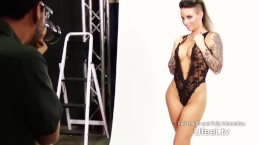 Interactive - Christy Mack's Photoshoot session Ends with a Pearl Necklace