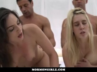 MormonGirlz-Big Mormon family breeding