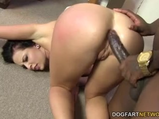 Anal Slut Aria Aspen Gets Stuffed With A Black Cock