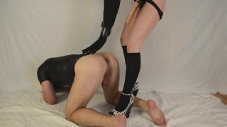 Kamasutra with strapon: doggystyle (femdom pegging)  strapon guy femdom mistress pegging his ass femdom strapon femdom milking pegging dominatrix strapon femdom anal femdom kink mistress pegging amateur femdom pegging german femdom strapon anal