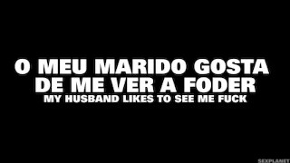 O meu marido gosta de me ver foder ! Trailer sexplanet portugal sexplanet cuckold husband wife cuckold big ass butt
