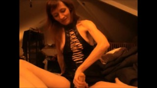 Seductive Wife Pegs Her Man  strapon guy strap on strapon cum ass fuck pegging his ass sexy lingerie fuck femdom strapon pegging strapon femdom milf kink pegging amateur femdom pegging adult toys pegging cum