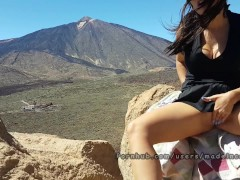 Public anal sex tourism with my small spanish teen bitch. Made in Canarias